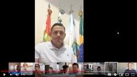 Vereadores realizam a primeira sessão do Plenário Virtual de sua história
